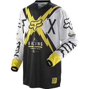 Fox Racing HC Giant Men's MotoX/Off-Road/Dirt Bike Motorcycle Jersey - Yellow / Small