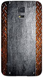 Timpax protective Armor Hard Bumper Back Case Cover. Multicolor printed on 3 Dimensional case with latest & finest graphic design art. Compatible with only Samsung Galaxy S-5. Design No :TDZ-20870