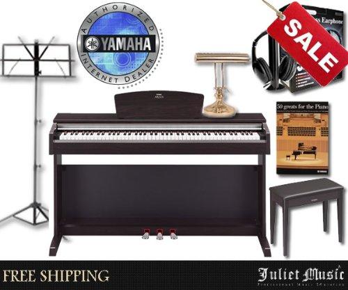 Buy yamaha arius ydp141 ydp 141 88 key digital piano for Yamaha 88 key digital piano costco