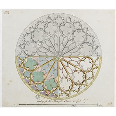 Greetings Card: 'Ceiling for the Honourable Horace Walpole Esq.' by Adam