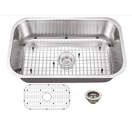 Superior Sinks Satin Brush Stainless Steel Single Basin Undermount Residential Kitchen Sink Miroslaxfanasyeva