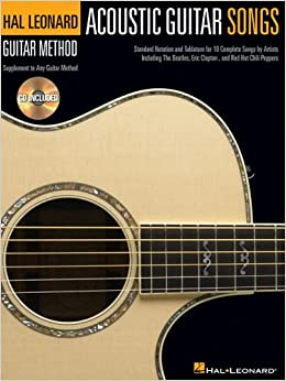 Acoustic Guitar Songs  Hal Leonard Guitar Method  available at Amazon for Rs.681