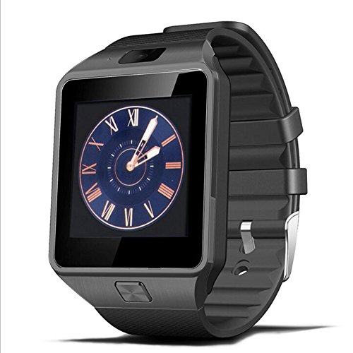 Padgene® Bluetooth Camera Smart Watch Wrist Watch Compatible with Android Samsung HTC Sony LG Huawei Motorola Smartphopne