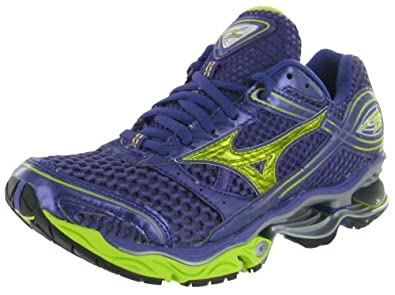 Mizuno Wave Creation 13 Purple Gold Running Runners Women Shoes by Mizuno
