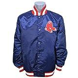 STARTER(スターター) MLB ボストン・レッドソックス ジーニー サテン ジャケット - XL [並行輸入品]
