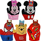 Cars Lightning McQueen Wash/Bath Mitts - approx 8 (1 X Cars only)
