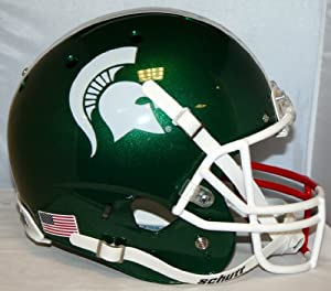 Mark Dantonio and Kyler Elsworth Michigan State Spartans Team NCAA Autographed Rose...
