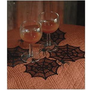 Spider Web Coasters