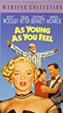 As Young As You Feel [VHS]