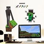 Minecraft Enderman & Creeper Wall Dec...