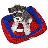 PAWZ Road スパイダーマン シリーズ ベッド 大型犬対応 クッション付き S