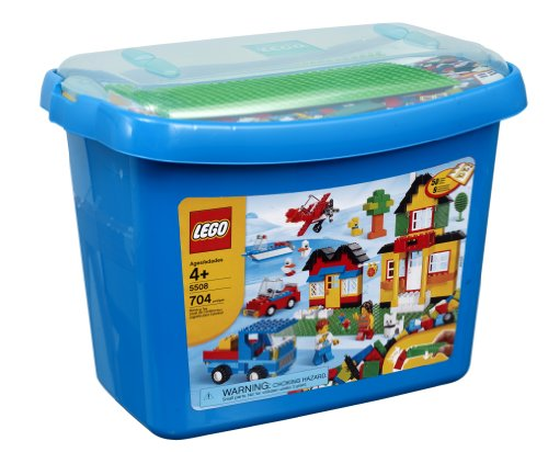 LEGO Bricks & More Deluxe Brick Box #5508 (704 pieces) Amazon.com
