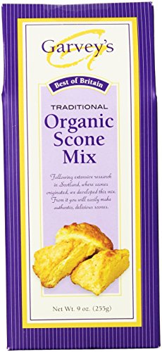 Garvey's Organic Traditional Scone Mix, 9-Ounce Boxes (Pack of 6) (Organic Muffin Mix compare prices)
