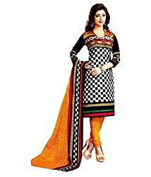 My online Shoppy Women's Cotton Unstitched Dress Material (My online Shoppy_127_Multi-Coloured_Free Size)