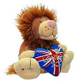 LZ Flag Plush Lion 18cm