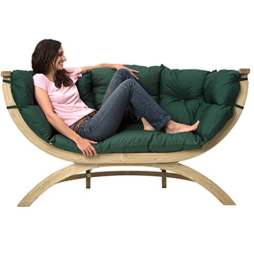 Amazonas Sofa Siena Due grun wetterfest