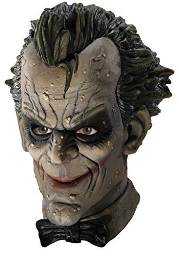 Batman Arkham City Joker Vinyl Supervillains Adult Halloween Costume Mask
