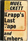 Image of KRAPP'S LAST TAPE and EMBERS.