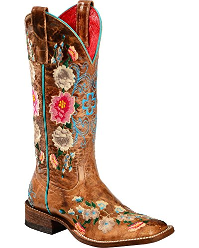 macie-bean-womens-anderson-boot-rose-garden-cowgirl-square-toe-honey-8-m-us