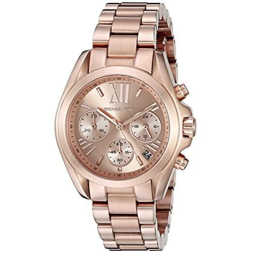 Michael Kors Ladies'Watch Chronograph Quartz Stainless Steel Coated MK5799