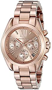 Michael Kors Women's MK5799 Bradshaw Rose Gold-Tone