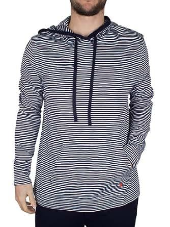 Polo Ralph Lauren - Bleu Stripe Hoodie - Homme - Taille: M