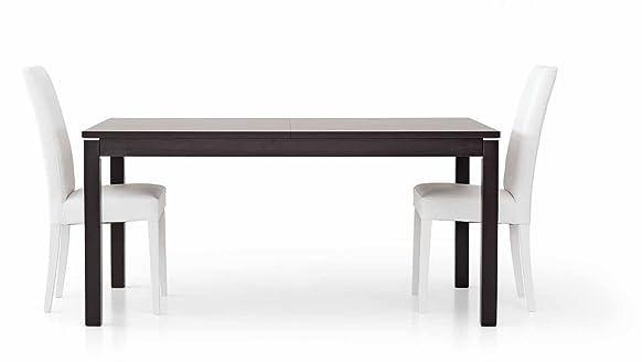 TABLES&CHAIRS tavolo rovere moro wengè marrone allungabile rettangolare 563 160x90x76