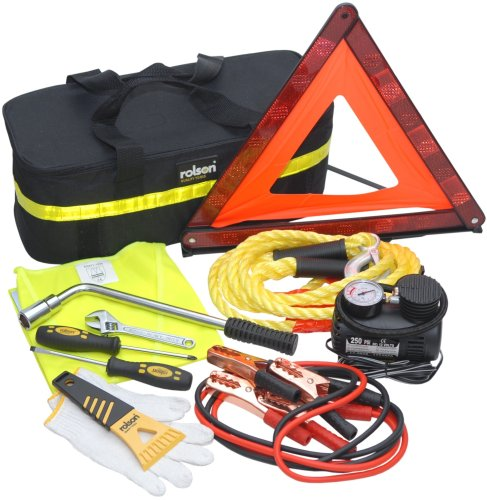 Rolson Tools 42922 Car Emergency Kit