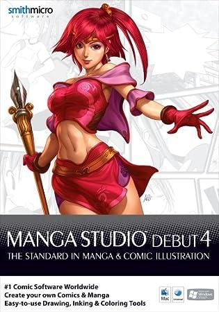 Manga Studio Debut 4.0 (Mac/PC CD) [import anglais]