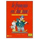 echange, troc Jean-Christophe Delbende, Vincent Heuzé - Le français en chantant (cassette audio)