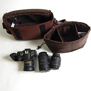 カメラバッグ Canadian East produced by MOUTH 一眼レフ おしゃれ 女子 ミラーレス カメラバッグ マウス ミニ ショルダーバッグ CEB1011 (FOREST)