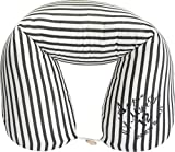 サンデシカ 授乳クッションになるロング抱き枕(妊婦さんにオススメ) ブラックストライプ 4202-9999-53