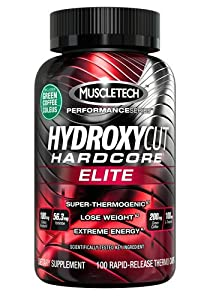 Hydroxycut Hardcore Elite-Svetol Green Coffee Bean Extract Formula, 100ct