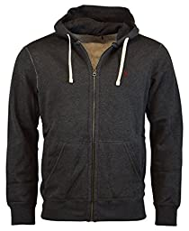 Polo Ralph Lauren Men\'s Full-Zip Classic Fleece Hoodie, Onyx Heather