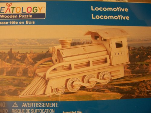 Creatology Wooden Puzzle ~ Locomotive (2 Sheets)