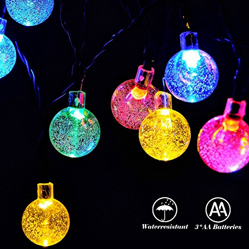Best Battery String Lights : Top Best 5 Cheap battery powered string lights for sale 2016 (Review) : Product : BOOMSbeat