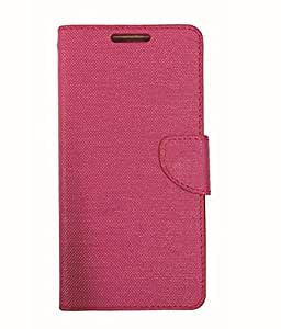 Ceffon Flip Cover Case For Infocus M260-Pink