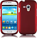 Product B00ANRRYO0 - Product title Generic Hard Cover Case for Samsung Galaxy S3 Mini - Retail Packaging - Red
