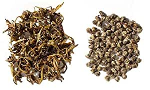Grüner Jasmintee - Oriental Jasmine Pearls 50g