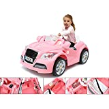 6V electric toy car - Electric pink BMW for children