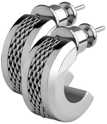 Skagen Denmark Womens Jewelry Silver Earrings #JESS029