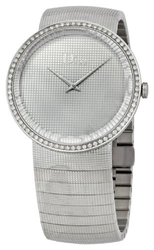 Christian Dior  Watches savings price: Christian Dior Women's CD043111M001 La D De Stainless Steel Bracelet Watch