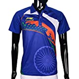 Li-ning Rio Team India T-Shirt - Dark Blue
