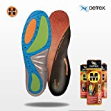 Aetrex Mens HIGH Arch Support Orthotic Insoles (pair): Custom Select Series. ...
