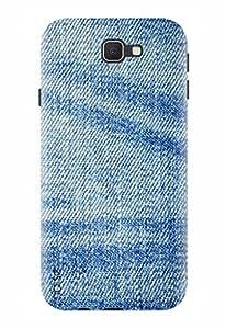Noise Designer Printed Case / Cover for Samsung Galaxy On Nxt / Patterns & Ethnic / Denim Design