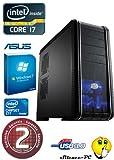 Ankermann-PCGTX Advance, Intel Core i7-4770K 4x 3.50GHz, Zotac GeForce GTX 680 AMP! Edition v2 2GB, Windows 7 Professional 64 Bit, SanDisk SSD 256GB, 16 GB RAM, 24x DVD-RW Writer-, Card Reader, Art.Nr.: 29132, EAN: 4260219658461
