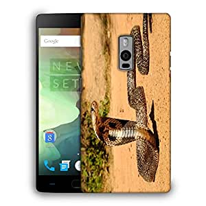 Snoogg Cobra Designer Protective Back Case Cover For ONEPLUS TWO