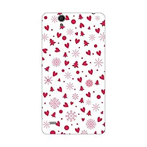 Sony C4 Cover - Hard plastic luxury designer case for Sony C4 -For Girls and Boys-Latest stylish design with full case print-Perfect custom fit case for your awesome device-protect your investment-Best lifetime print Guarantee-Giftroom 866