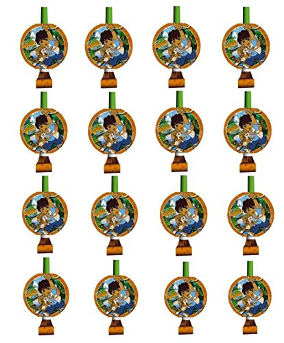 Go Diego Go! Party Favor Blowouts for 16 Guests!