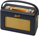 Revival RD60 portable (DAB+ / DAB / UKW-Tuner) Retro-Radio blau